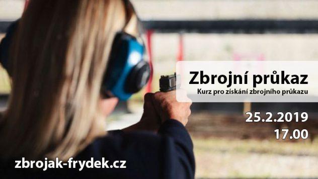 Kurz ke získání zbrojního průkazu @ Střelnice Hliník